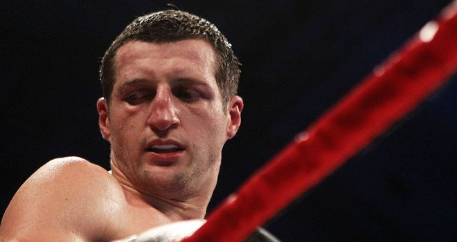Carl Froch: Nottingham fighter will take on Lucian Bute at the Nottinghman Arena in his home city