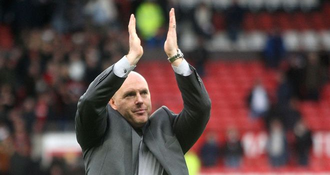 Steve Kean: Claims Blackburn are a club on the up
