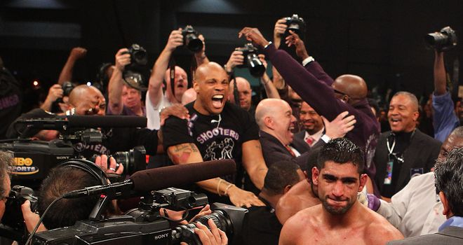 Defeated: But Johnny expects Khan and British boxing to come again in 2012