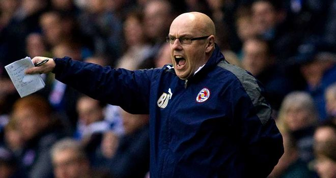 Brian McDermott: Has committed his long-term future to Reading