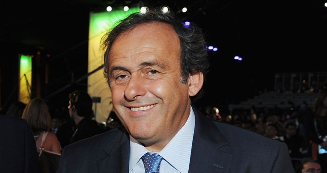 Michel Platini: UEFA president ensuring order at Euro 2012 both on and off the pitch
