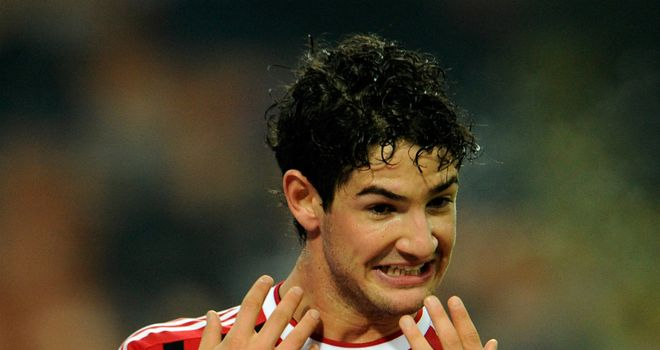 Alexandre Pato: Is happy to stay at AC Milan, according to his agent