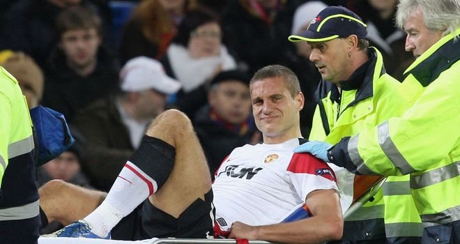 Nemanja Vidic: Manchester United skipper knew instantly his season was over in December