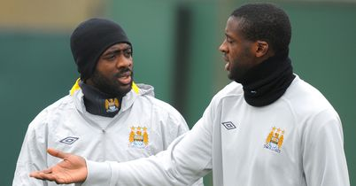 Kolo and Yaya Toure: Soon head off to Africa Cup of Nations