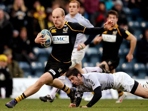 Joe Simpson: Scored a superb try