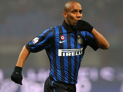 Maicon: Makes Manchester City move