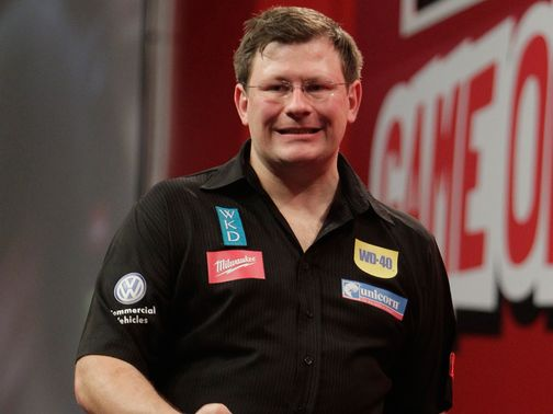 James Wade: Early exit in Dublin