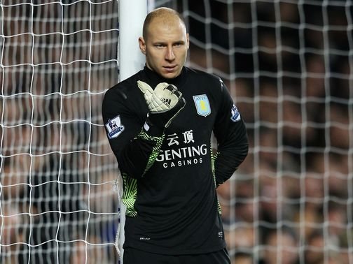 Brad Guzan: Left out of the 2010 League Cup final