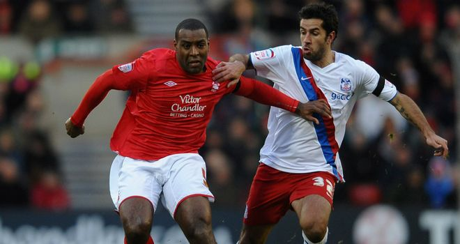 Wes Morgan: Having a medical at Leicester after a fee was agreed with Nottingham Forest