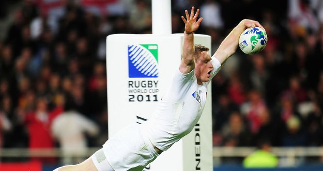 Chris Ashton: Readers' favourite for top try scorer