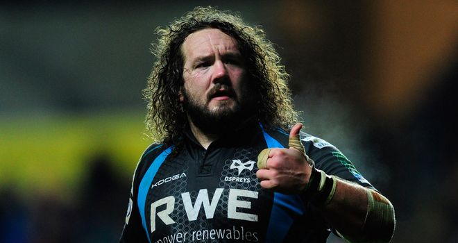 Adam Jones: Has committed to the Ospreys despite interest from elsewhere