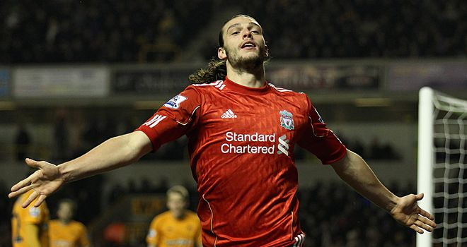 Andy Carroll: Opened the scoring for Liverpool