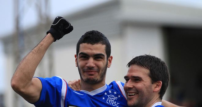 Salim Kerkar: Former Rangers player has signed a one-year contract with Charlton Athletic