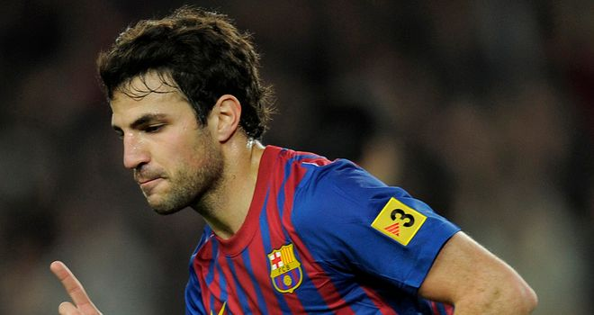 Cesc Fabregas: Ready to embrace midfield role at Barcelona once again