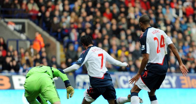 Chris Eagles: Scored winner as Bolton beat Swansea in FA Cup tie at Reebok