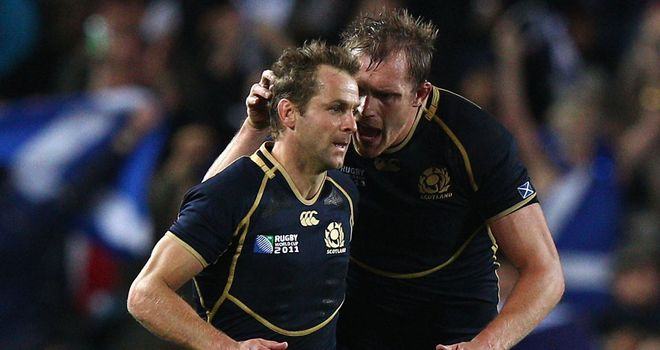 Chris Paterson: Veteran back in action for Scotland