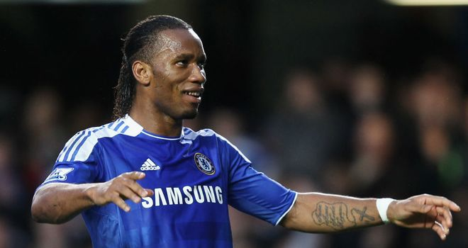 Didier Drogba: Reportedly offered a three-year deal at Shanghai Shenhua worth £267,000 per week