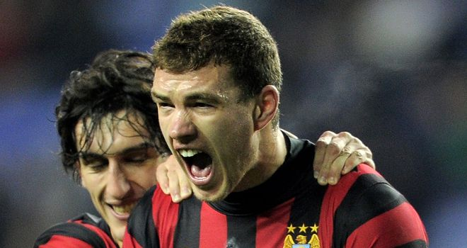 Edin Dzeko: The Bosnian has not scored in any competition since February