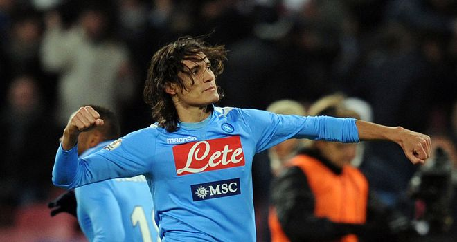Edinson Cavani: Chelsea and Manchester City have been linked with the forward
