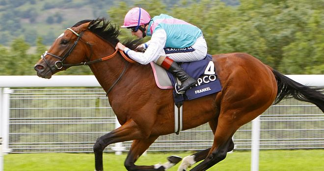 Frankel: 'It's great to see he is back on track after injury,' says Alex