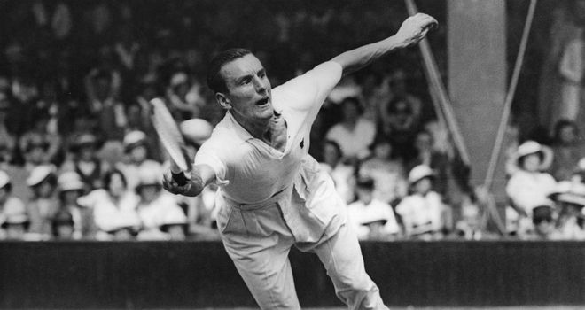 Fred Perry: The last British man to win a grand slam singles title