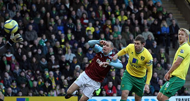 Grant Holt put Norwich on their way to a comfortable success, before missing from the spot