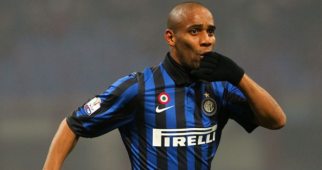 Maicon: Has agreed a move to Manchester City, according to his club Inter Milan