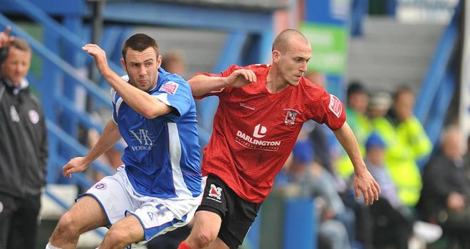 Lowry (left): Back with Spireites