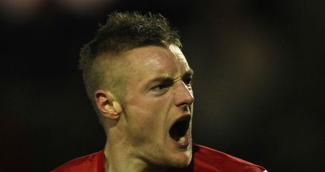 Jamie Vardy: Signed for Leicester from Fleetwood Town