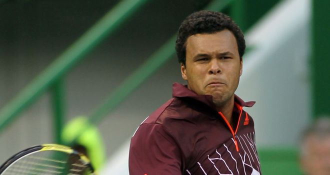 Jo-Wilfried Tsonga: saved two set points in the opener