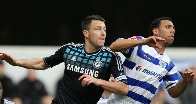 No handshakes: Anton Ferdinand did not have to shake John Terry's hand prior to the FA Cup clash