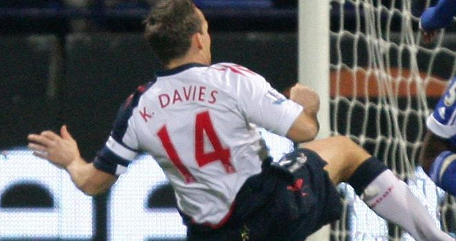 Kevin Davies: Back in training after knee injury and could face QPR