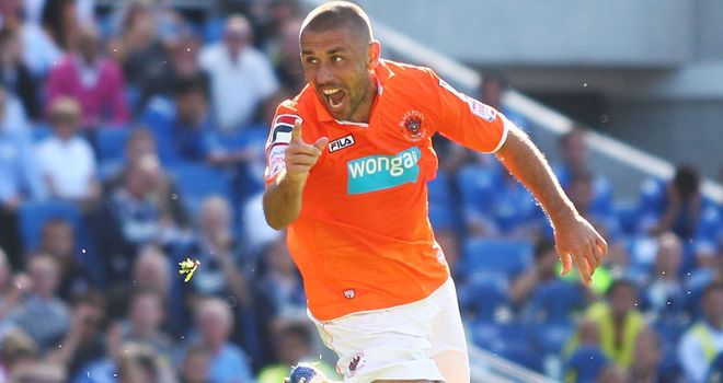 Kevin Phillips: The 38-year-old scored twice when Blackpool met Brighton earlier in the season