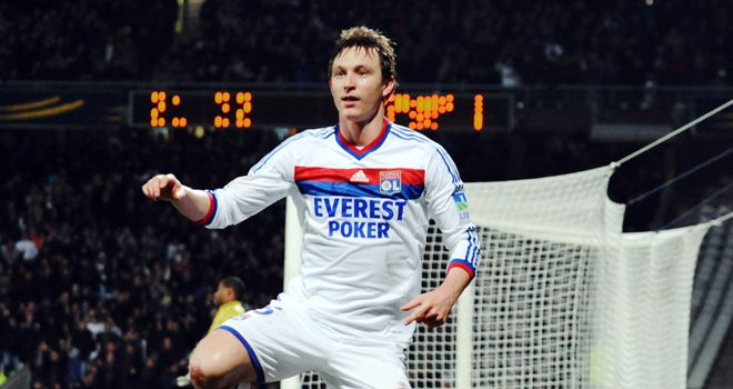Kim Kallstrom: Has agreed to join Spartak Moscow from Lyon