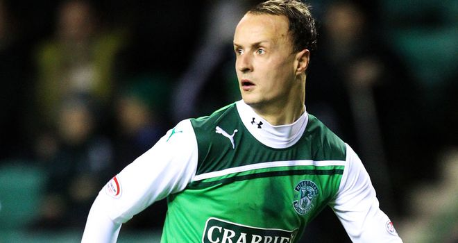 Leigh Griffiths: Hibernian striker charged by the SFA after making a gesture