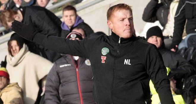 Neil Lennon: Has accused the Scottish tabloids of stirring up a controversy