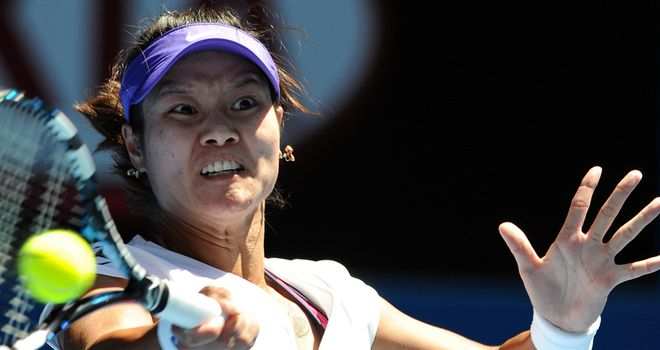 Li Na: Felt the heat in opener against Ksenia Pervak