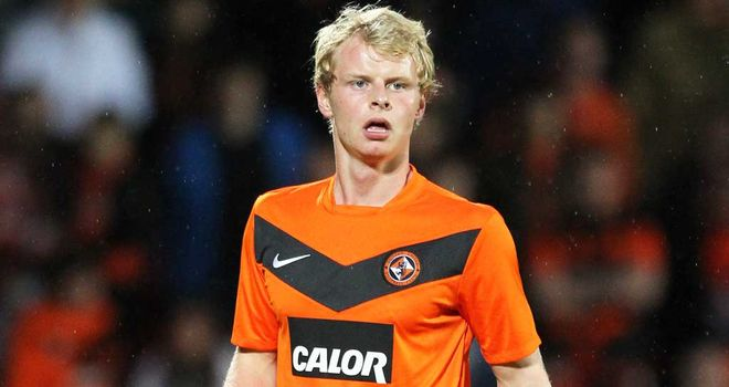 Gary Mackay-Steven: New deal at Tannadice