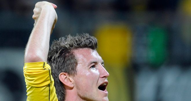 Mads Junker: On the mark for Roda JC in their win over AZ Alkmaar