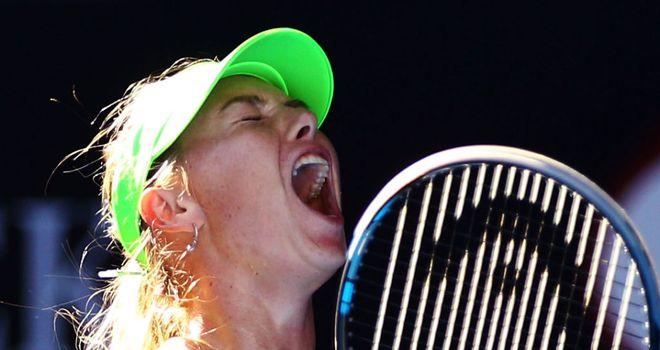 Maria Sharapova: Avenged her Wimbledon final loss