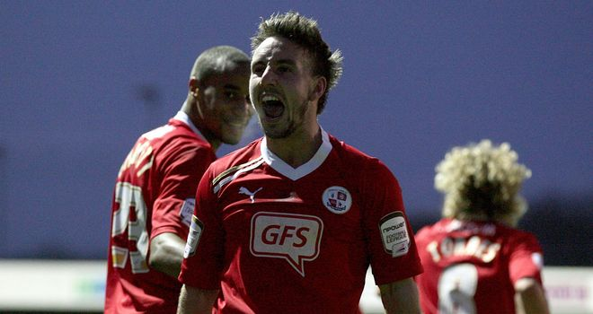 Matt Tubbs: Subject of a bid from Bournemouth, but Crawley are keen to keep the striker