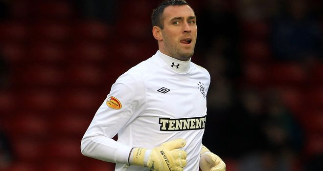Allan McGregor: Rangers goalkeeper is targeting a positive finish to the season