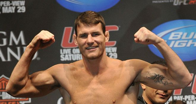 Michael Bisping: Doesn't believe that Belcher is in his league