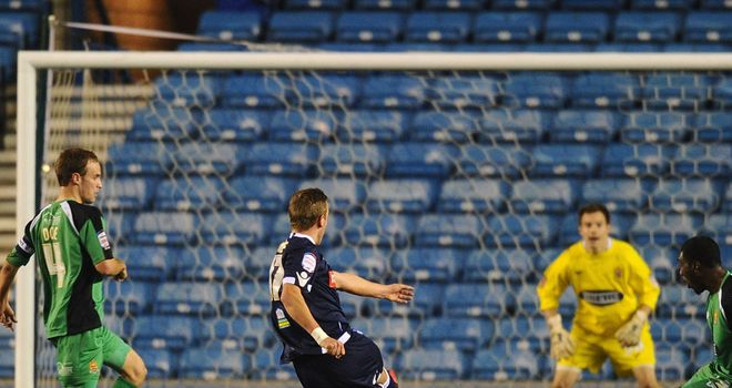 Harry Kane: Bagged a brace for Millwall in their 5-0 win