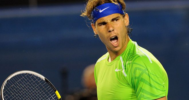 Nadal: Through to the final after four-set victory