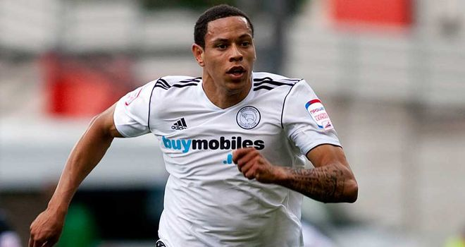 Nathan Tyson: The striker has joined Blackpool from Derby County
