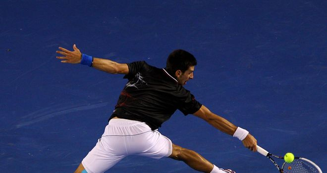 Novak Djokovic: pushed to the limit by Nadal before winning the Australian Open