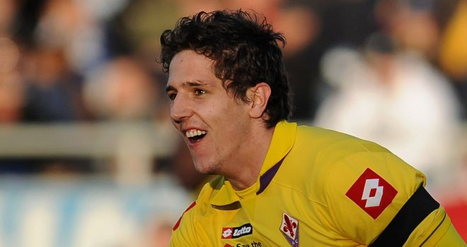 Stevan Jovetic: Impressive displays for Fiorentina have put the Montenegrin in the shop window