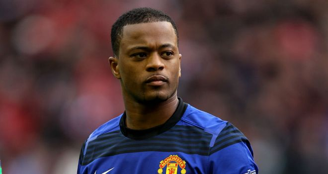 Patrice Evra: Manchester United skipper targeting a 20th title on Sunday