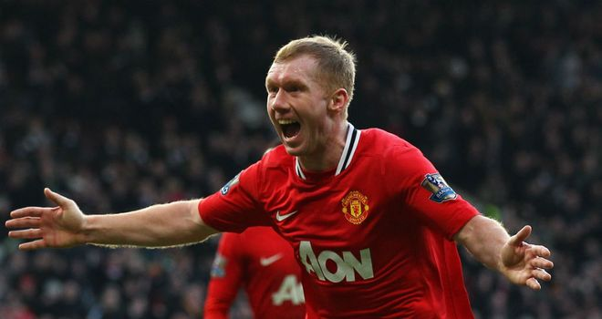 Paul Scholes: Came out of retirement in January to aid Manchester United's title push